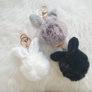 Accessories - Bunny ear pom poms